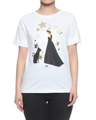 ホワイト  t-shirtを見る