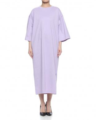 パープル  LONG T-SHIRT DRESSを見る