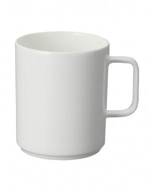 ホワイト  【MAISON DU BON for SALON】スタッキングマグコーヒーを見る