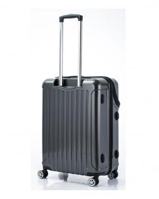 ブラックカーボン トップオープンスーツケース Mを見る