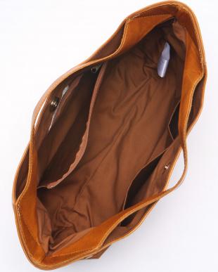 キャメル ホースレザー手提げバッグを見る