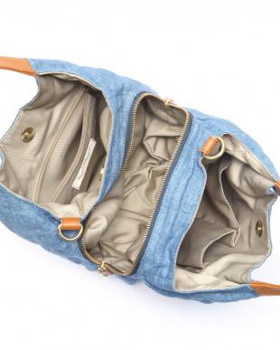 ブルー リトアニアリネン2WAYバッグを見る