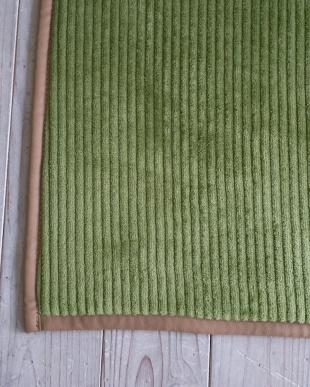 グリーン 洗えるフランネルストライプキッチンマット『グルーヴ』 45×240cmを見る