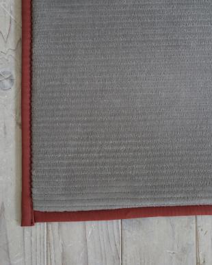 グレー 洗えるフランネルストライプキッチンマット『グルーヴ』 45×180cmを見る