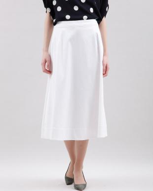 オフホワイト1 フレアロングスカート 7-ID concept.を見る