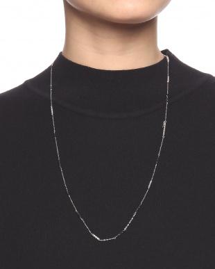K18WG ブラックダイヤ 4.8ct ネックレス/ブレス 52cm+18cmを見る