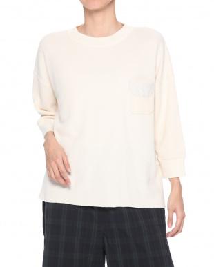 アイボリー ワイドミリタリーポケットTシャツを見る