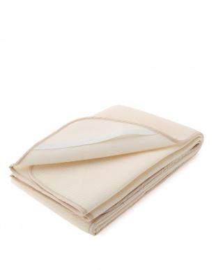 ベージュ 日本製麻綿入りメッシュ敷パットを見る