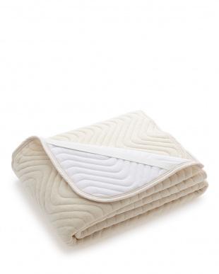 アイボリー 高密度綿パイル敷パット セミダブルサイズを見る
