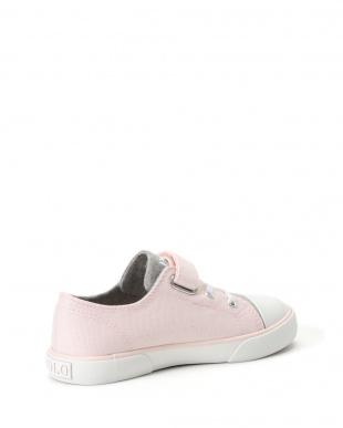 Light Pink Canvas/Grey Heather Jersey w/White PP  KONI│Toddlerを見る