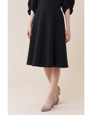 ネイビー |CLASSY 10月号掲載|オーセンティックダブルクロススカート NATURAL BEAUTYを見る