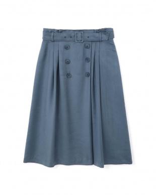 ブルー ◆[WEB限定商品]ディアーナサテンスカート NATURAL BEAUTYを見る
