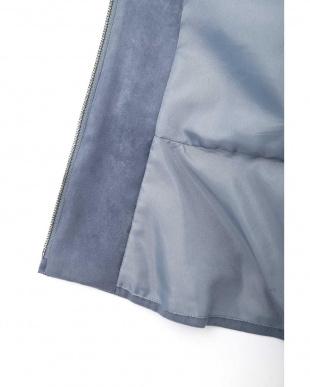 ブルー ◆エルモザフェイクスエードジャケット NATURAL BEAUTYを見る