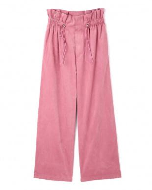 ピンク スエードハイウエストパンツ TOKYO STYLIST THE ONE EDITIONを見る
