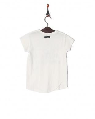 オフホワイト オンナノコ4色2柄半袖Tシャツを見る