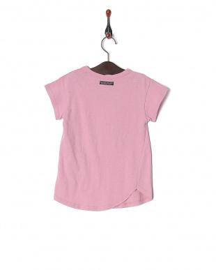 ピンク オンナノコ4色2柄半袖Tシャツを見る