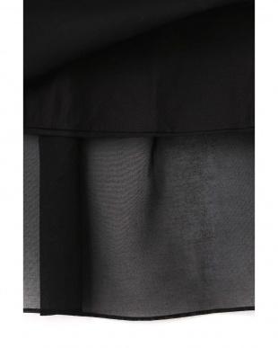ブラック 《arrive paris》オーガンジースカート ヒューマン ウーマンを見る