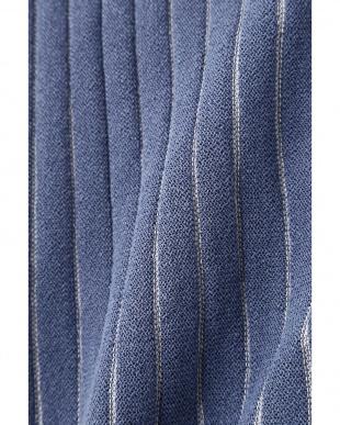 ブルーst1 ◆ストライプ柄ロング羽織 ヒューマン ウーマンを見る