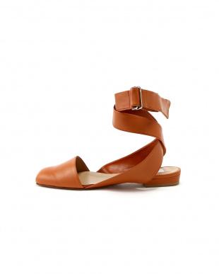 ブラウン [ELIN]Lamb ballet shoes アッシュスタンダードを見る
