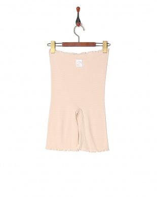 ピンク ネルネ 夢肌ごこちの3分丈腹巻付パンツを見る
