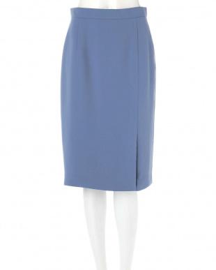 ブルー ◆ダブルクロスIラインスカート ピンキー&ダイアンを見る