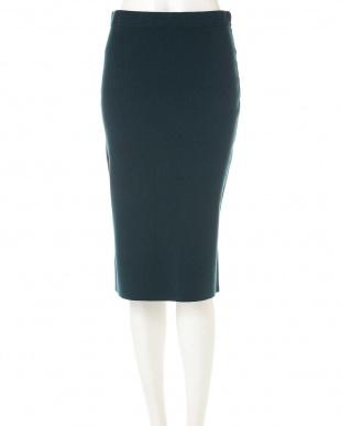 グリーン ◆SUNNY ニットスカート(セットアップ対応) ピンキー&ダイアンを見る