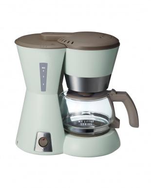 グリーン  MY LITTLE SERIES 4カップコーヒーメーカーを見る