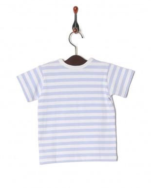ブルー系その他 J008 アニエスベー ベビー ボーダー Tシャツを見る