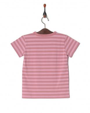 ピンク系その他 J008 アニエスベー キッズ ボーダー Tシャツを見る