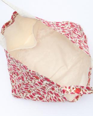 レッド系その他 IY64 アニエスベー リボン刺繍付き リバティプリント バッグを見る
