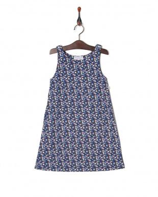 ブルー系その他 JDQ1 アニエスベー キッズ リバティプリント ドレスを見る
