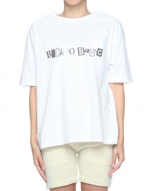 White ビッグシルエットポケットT-Shirtsを見る