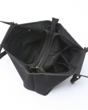 グレー  モニカ MONICA ダブルハンドルスェードA4トートバッグを見る