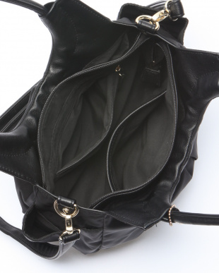 ブラック  モニカ MONICA ナイロン2wayトートバッグを見る