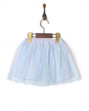 ブルー 定番スカートを見る