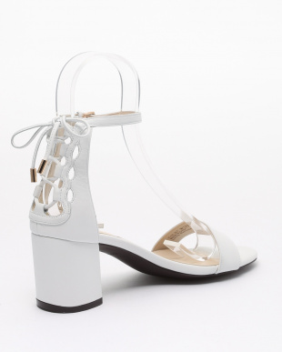 LEAH SANDAL:WHITE LEATHERを見る
