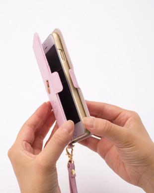ネイビー iPhone7・6s・6用手帳型ケース・リップ/デジタルアクセサリーを見る
