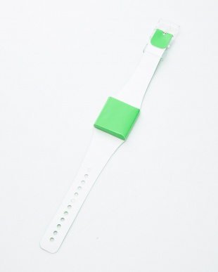 グリーン 腕時計・ネオン/アイ・ライク・ペーパーを見る