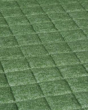グリーン ニットキルトラグ 185×185cmを見る