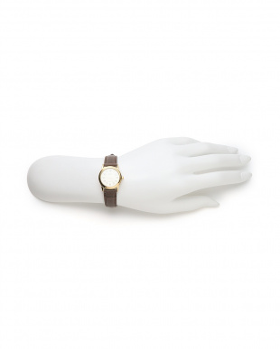 ダークブラウンゴールド CASIO Leather belt watch/LTP-V001GL-9Bを見る