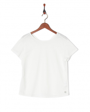 WHITE バックシャンTシャツを見る