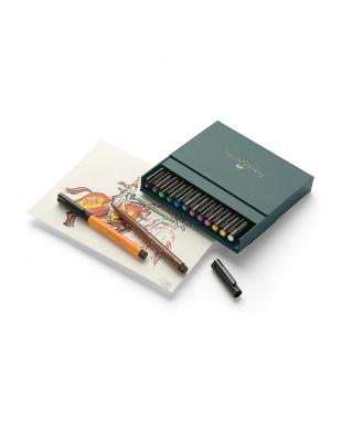 アート&グラフィックPITT アーティストペン スタジオボックス 12色を見る