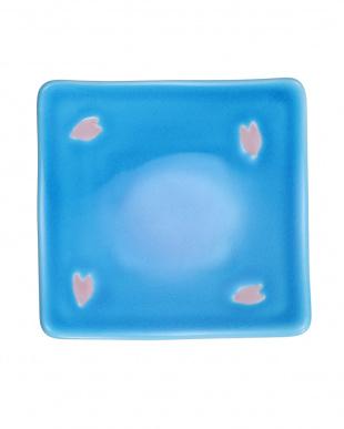 浅黄交趾舞桜 角小皿を見る