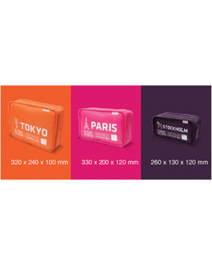 mix IN-LUGGAGE POUCH CITY-CUBE Bを見る