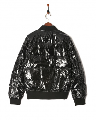 BLK シャイニーダウンMA-1ジャケットを見る
