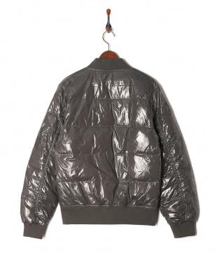 GRY シャイニーダウンMA-1ジャケットを見る