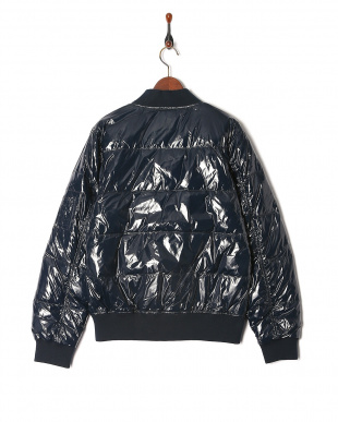 NVY シャイニーダウンMA-1ジャケットを見る