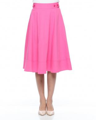 ピンク アサコンフレアスカートを見る