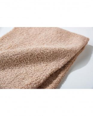 ベージュ 細番手高級糸「コーマ綿」 フェイスタオル 4枚セットを見る