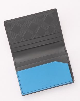 09 マルチカラークレストブリッジチェックカードケースを見る